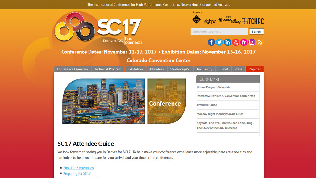 SC17: HPC connects