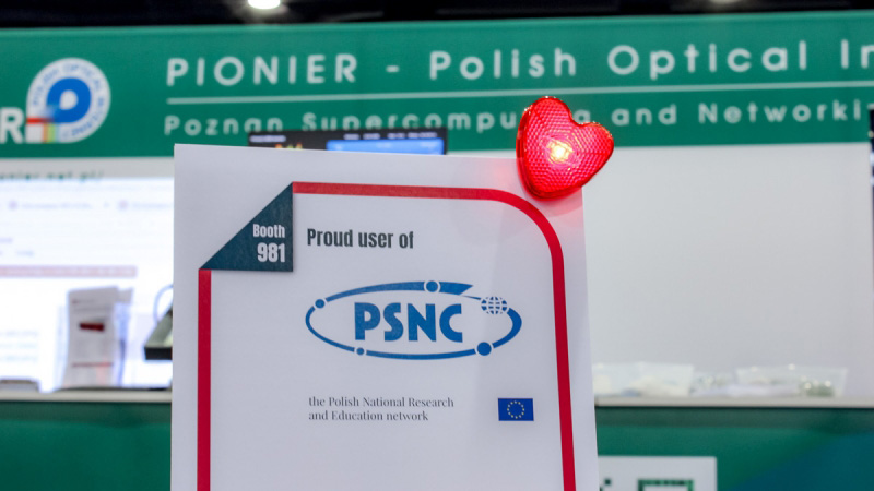 Photo report: PSNC and PIONIER booth at SC17 Conference