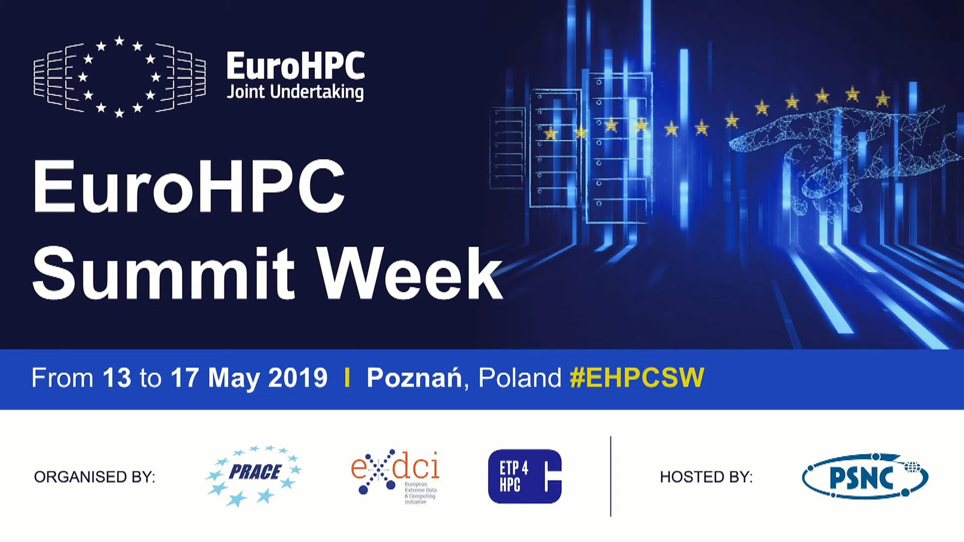 EuroHPC Summit Week 2019: registration is now open!