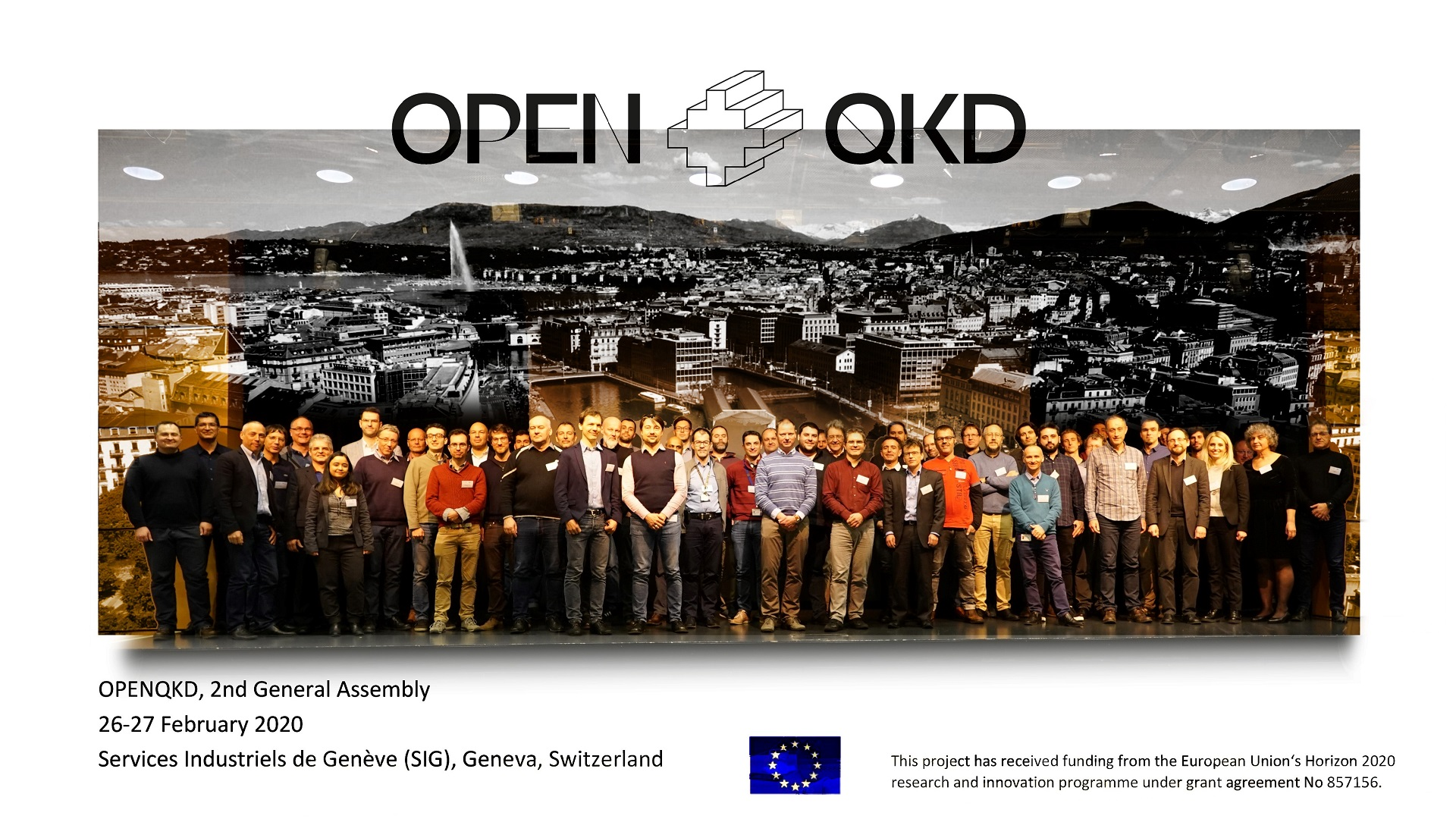 Meeting of the OpenQKD project partners with PSNC participation