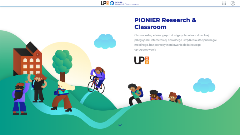 Start working online with PIONIER Research and Classroom services