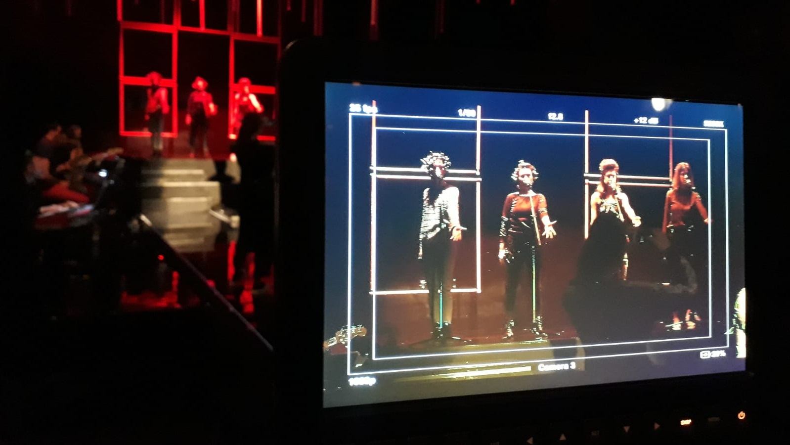 Broadcast of the performance at Teatr Nowy in Poznań by PSNC