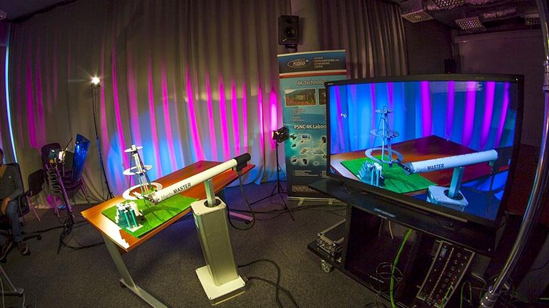 40 GB/s 4K 3D optical transmission Poznań-Amsterdam