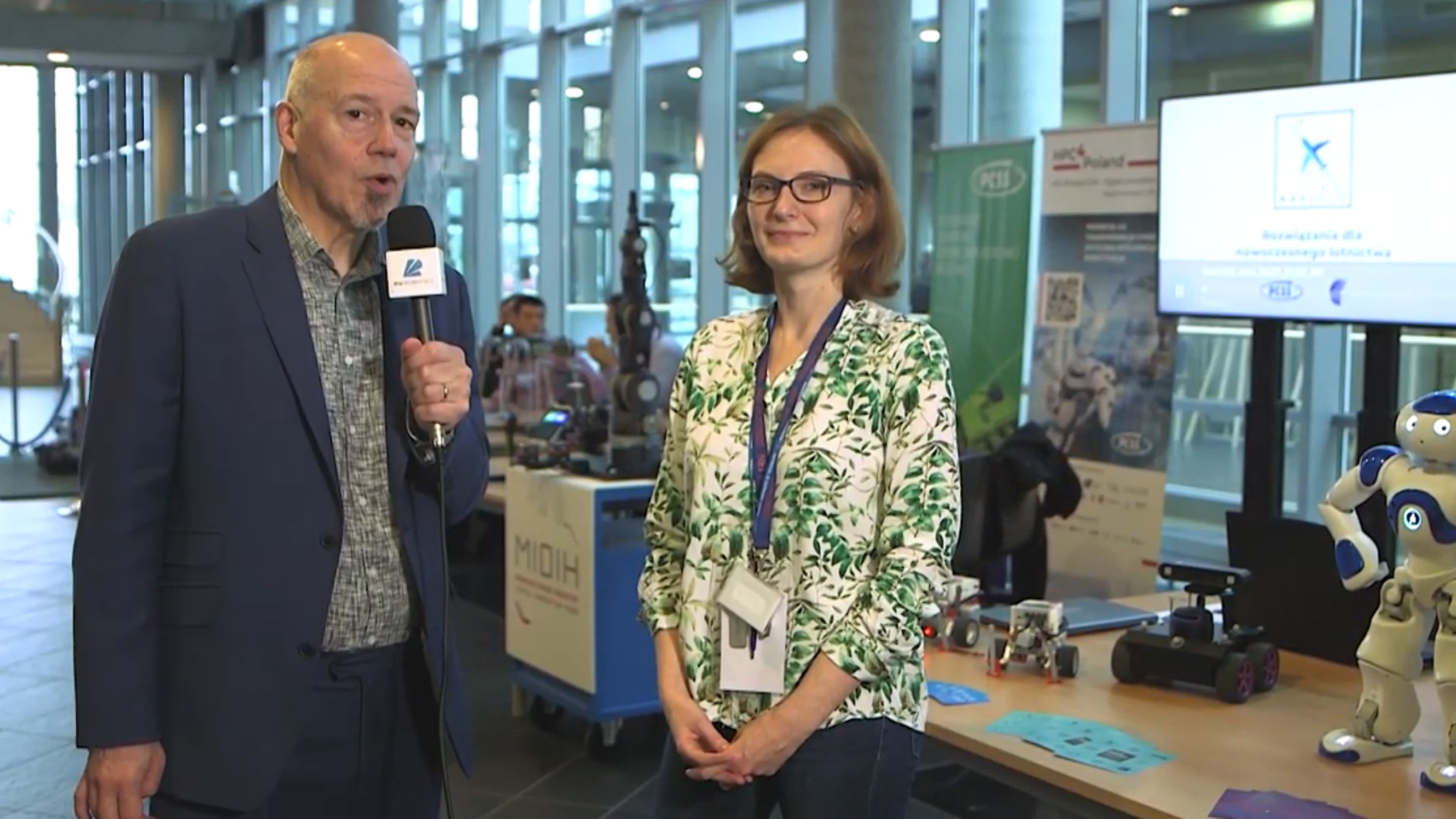 European Robotics Week: interview with Alicja Laskowska