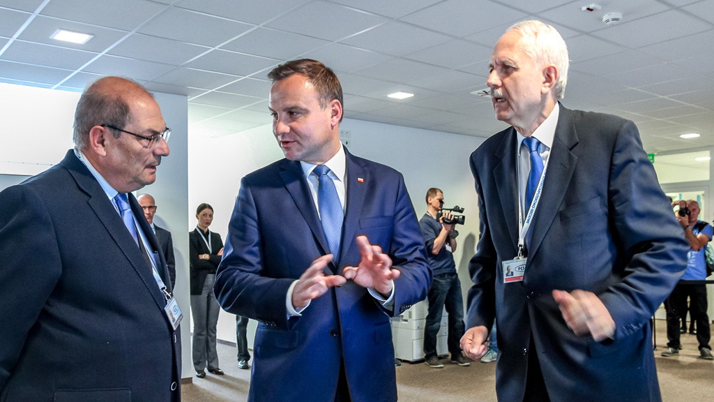 President of the Republic of Poland visited PSNC