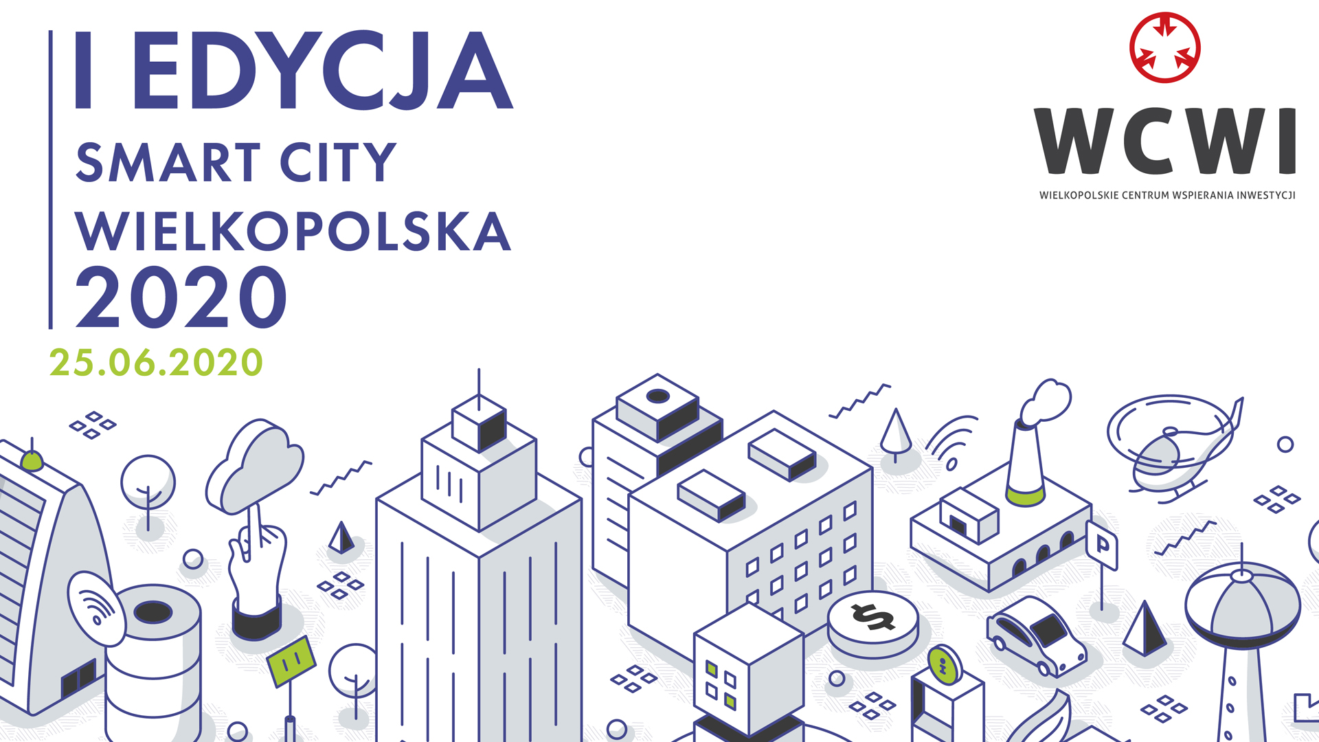Invitation to the first edition of Smart City Wielkopolska conference