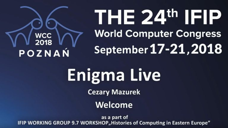 Enigma Live Show during WCC 2018