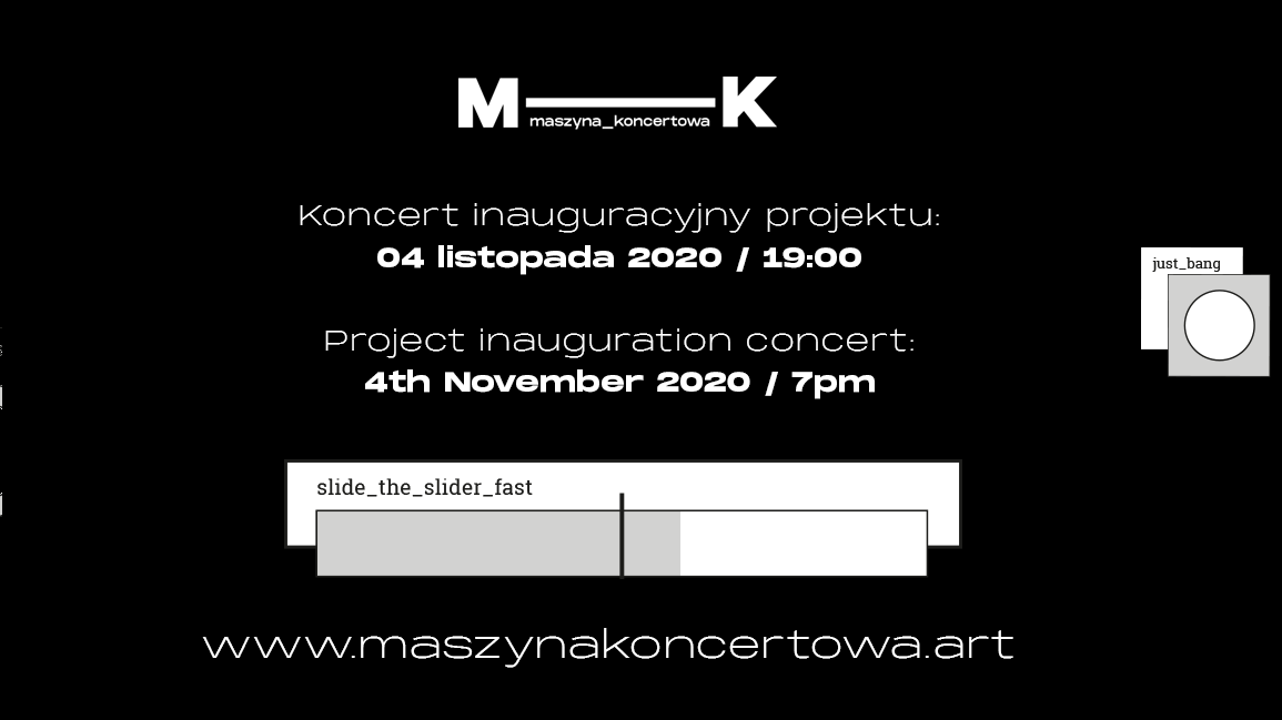 """Inauguration of the """"Concert Machine"""" project"""