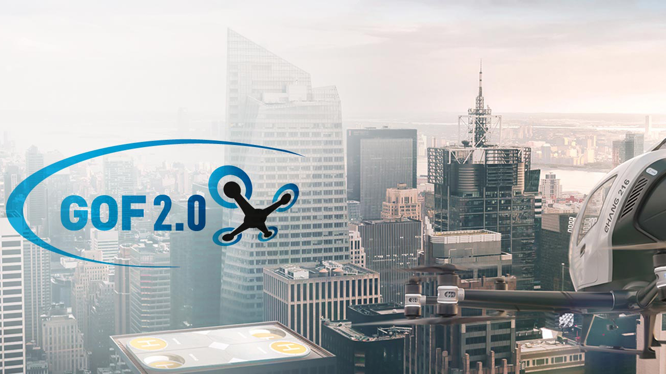 PSNC enters GOF 2.0 – urban air mobility research project