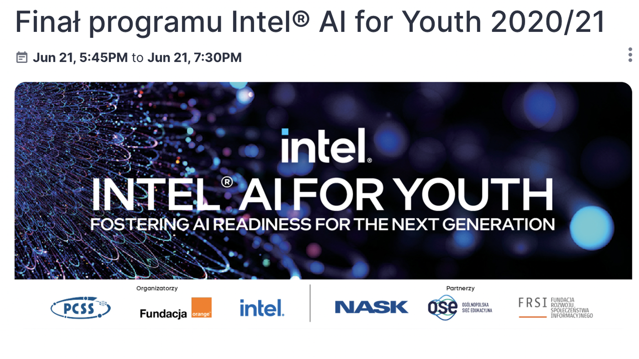 We selected the top 5 projects of the Intel® AI for Youth program