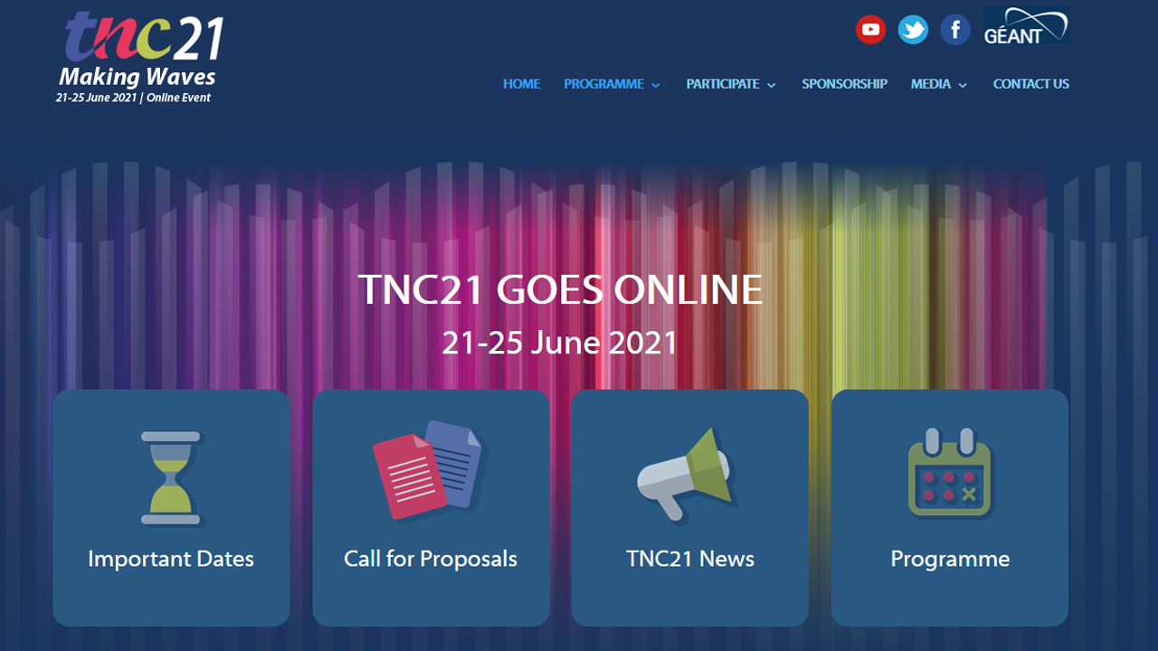 PSNC organizes the TNC21 Conference – this time fully remotely