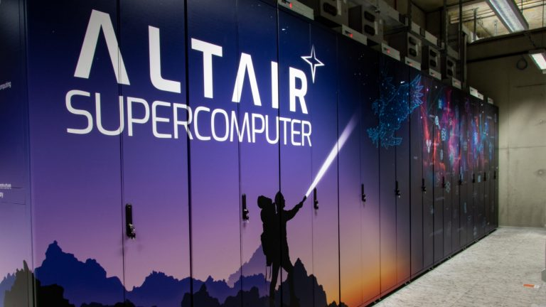 Altair supercomputer is fully operational and ready to go