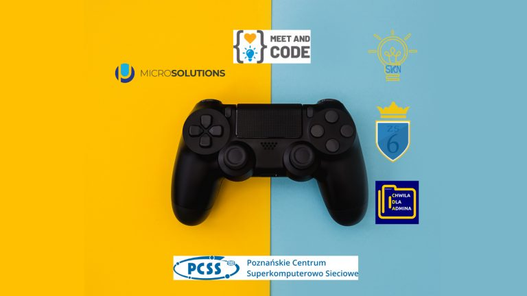 PSNC as patron of Game Jam ZS 6