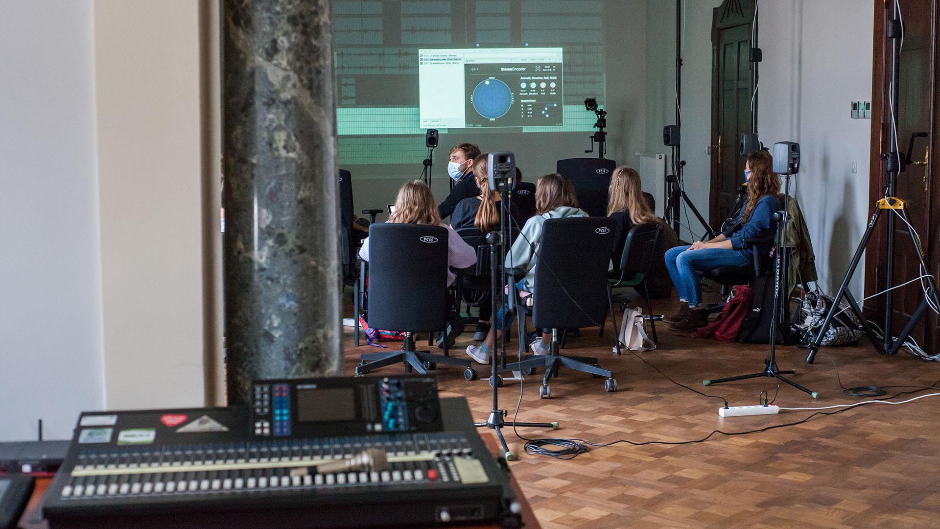 "Workshop ""Future: Soundtrack"" at PSNC Future Labs"