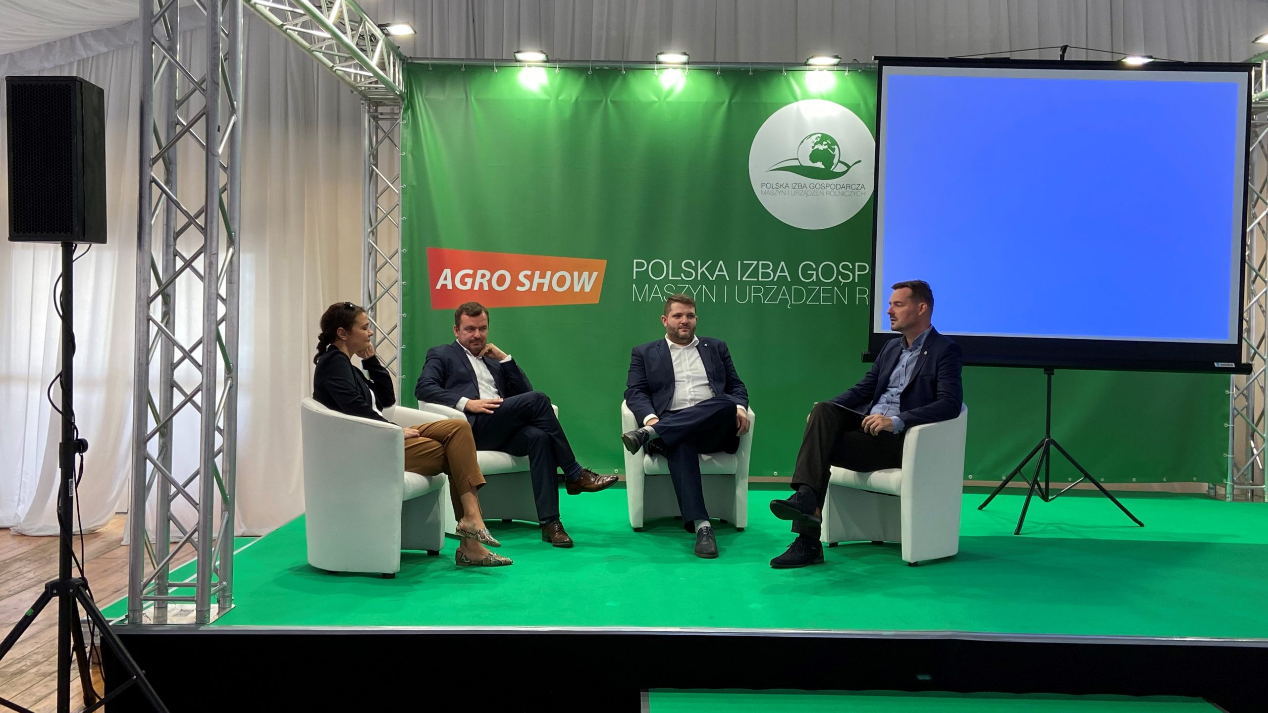 Presentation of PSNC projects at Agro Show 2021