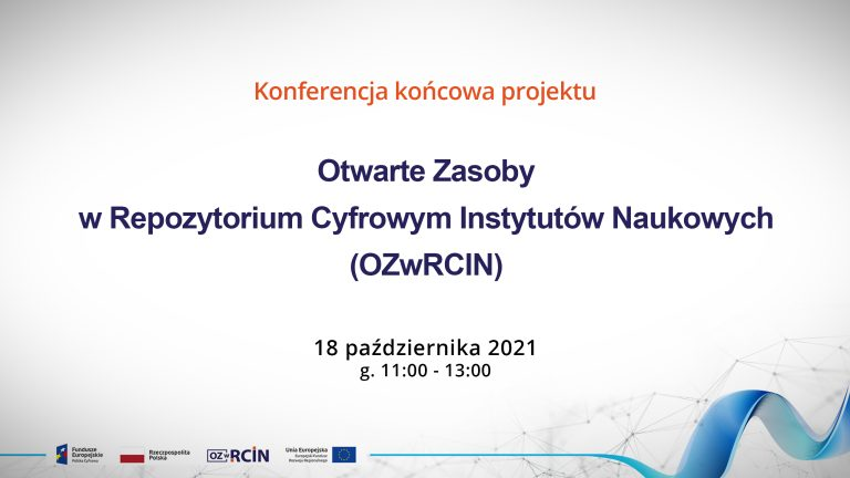 Final conference of the OZwRCIN project